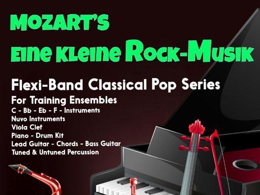 Eine Kleine Rock Musik (Flexi-Band Score & Parts)