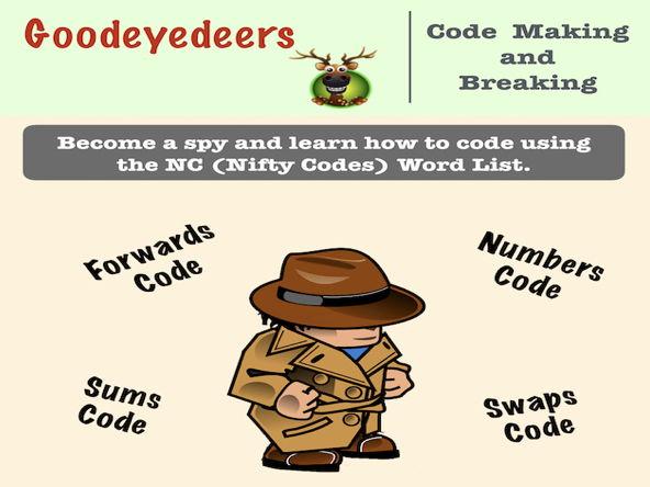 Year 3 Code Making and Code Breaking - NC Word List