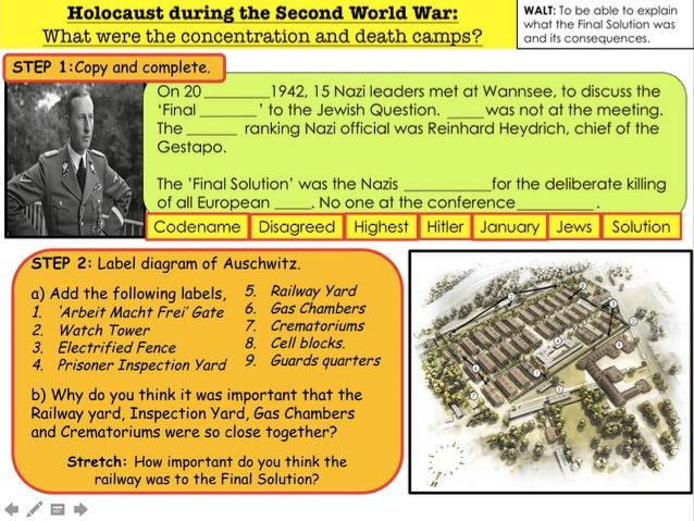 Holocaust What were the Concentration and Death Camps?