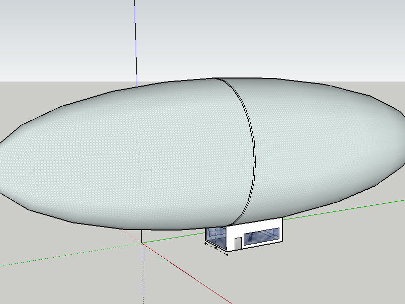 3D Blimp using Google Sketchup