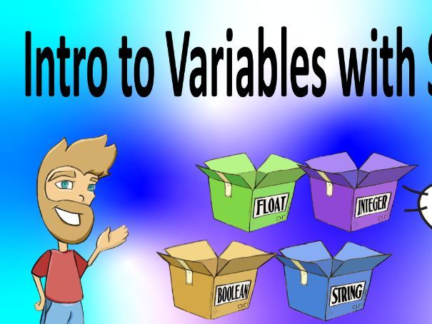Complete Lesson - Introduction to Variables (Scratch)