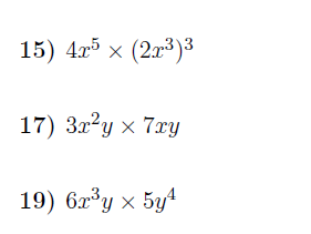 The rules of indices  worksheet (with solutions)