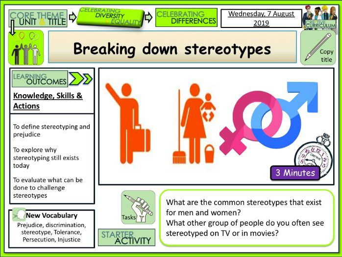 Breaking down Stereotyping