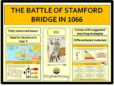 The Battle of Stamford Bridge, 1066