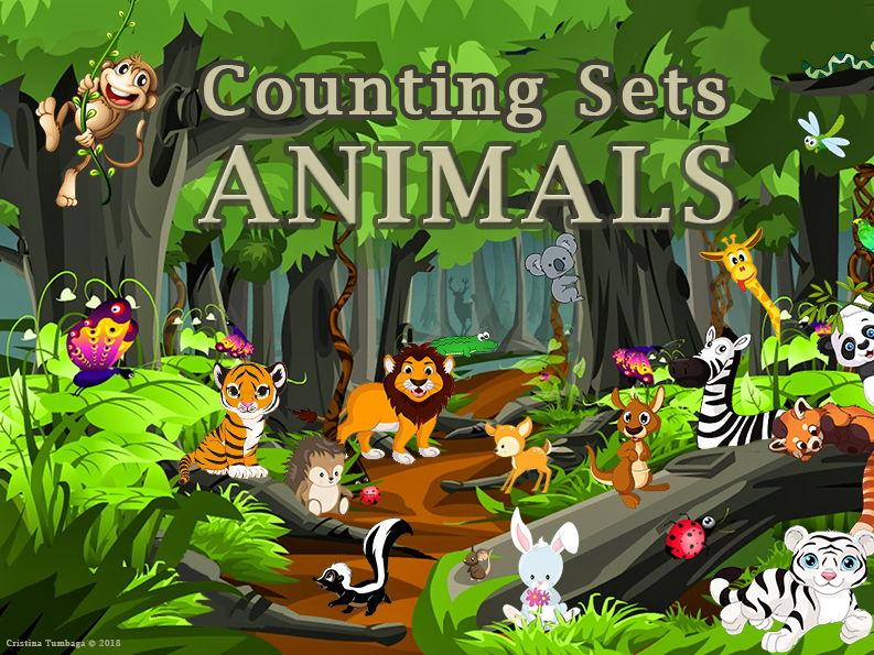 Counting Sets Animal Theme