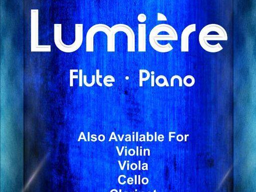 Lumiere - Flute & Piano (Score & Parts)