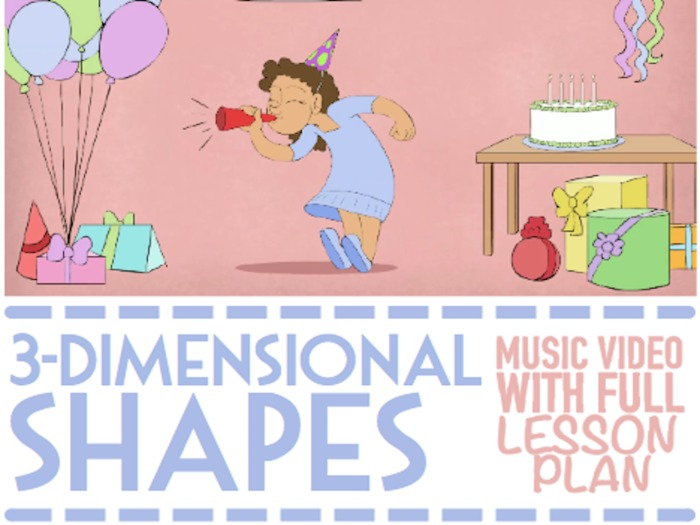 3D Shapes: Musical Lesson Plan