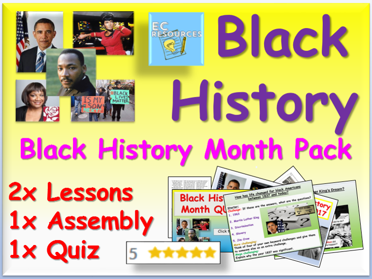 Black History - Tutor Time / PSHCE