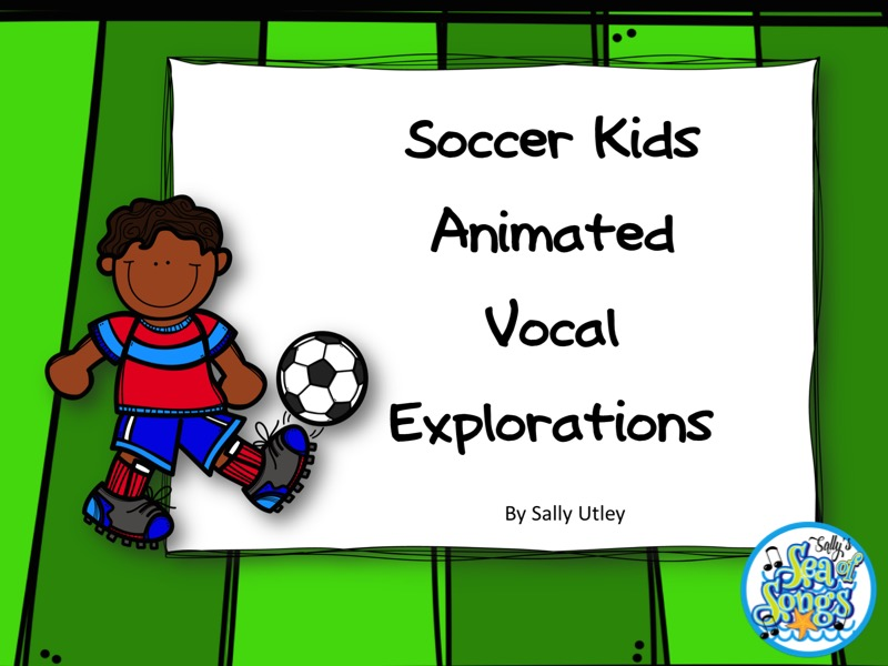 Soccer Kids Animated Vocal Explorations