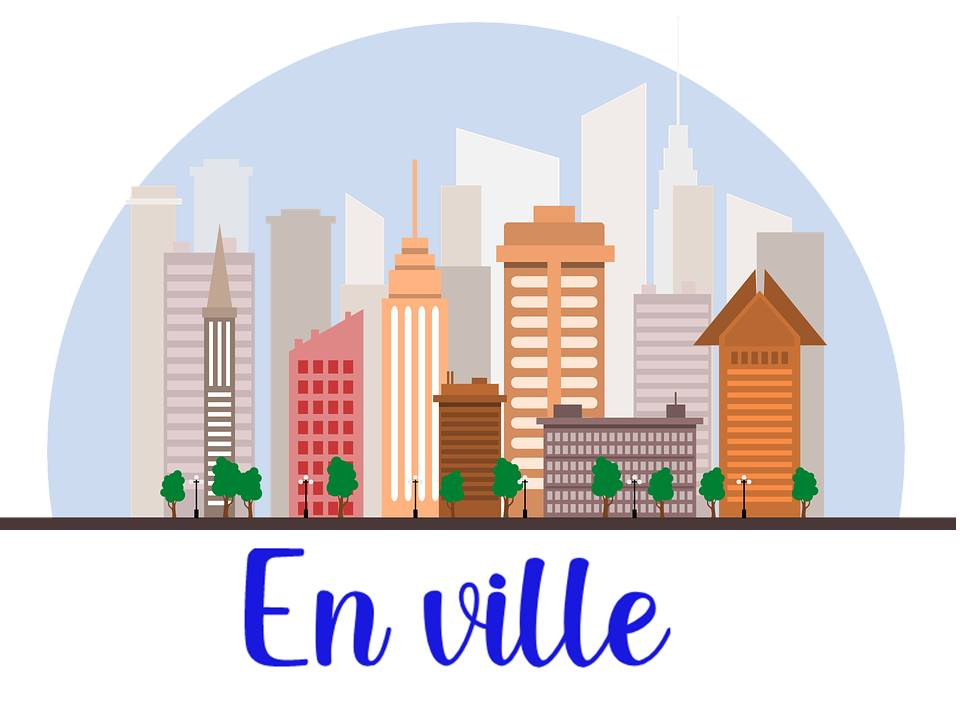 Places in town in French