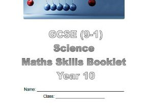 Edexcel 9-1 Science Maths skills booklet