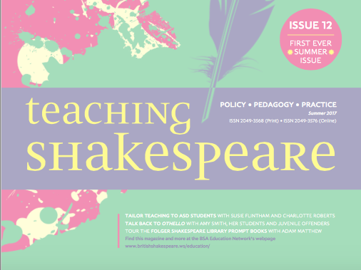 Teaching Shakespeare: issue 12