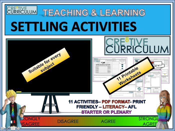 Starter and Plenary Activities - FUN/C8F/TL/01