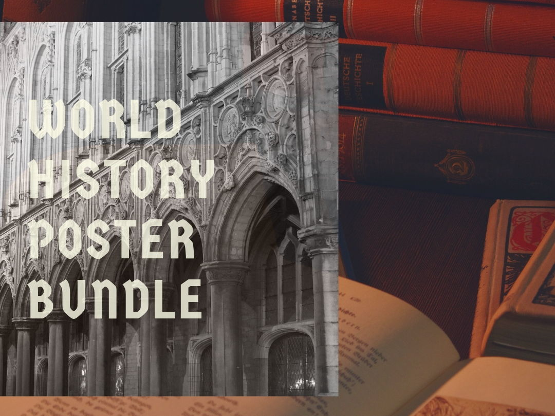 World History Poster Bundle
