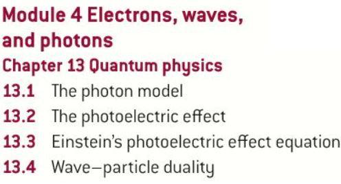 OCR AS level Physics: Quantum Physics