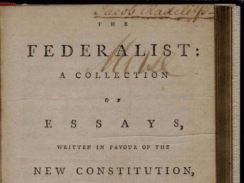 Alexander Hamilton and the Ratification of the Constitution