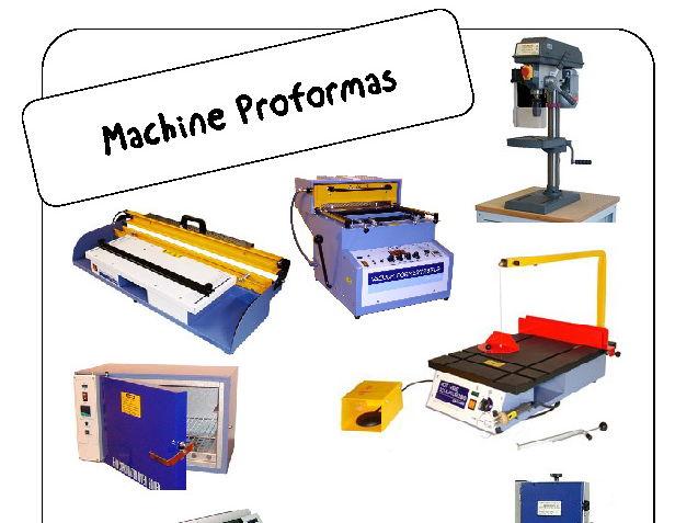 Machine Safety Proformas