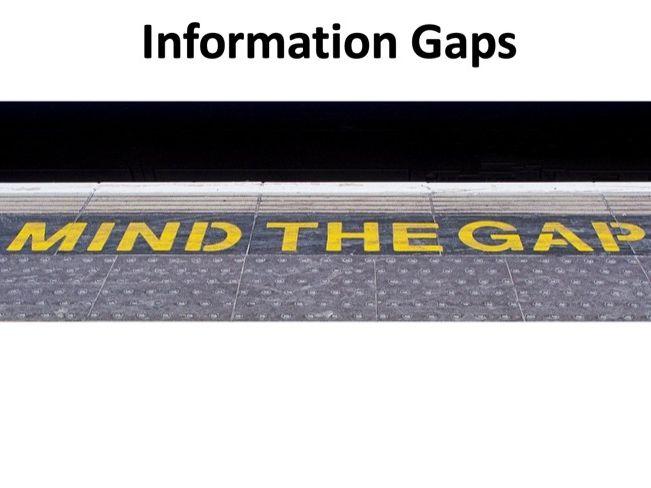 A level Economics - Information Gaps