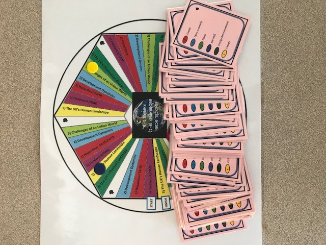 Articulate Revision Board Game GCSE Geography Edexcel B 9-1