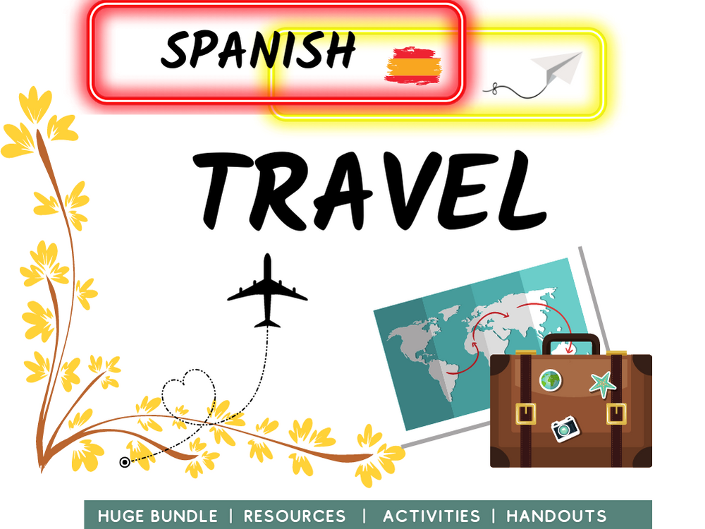 Travel and Holidays Spanish Revision