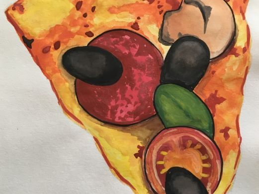 second hand drawing (food) - mini project (fully resourced)