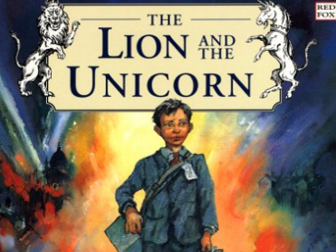 The Lion and the Unicorn Shirley Hughes - Letter writing week 1 (World War Two Year Six English)