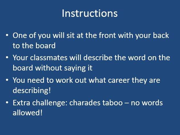 Taboo Careers