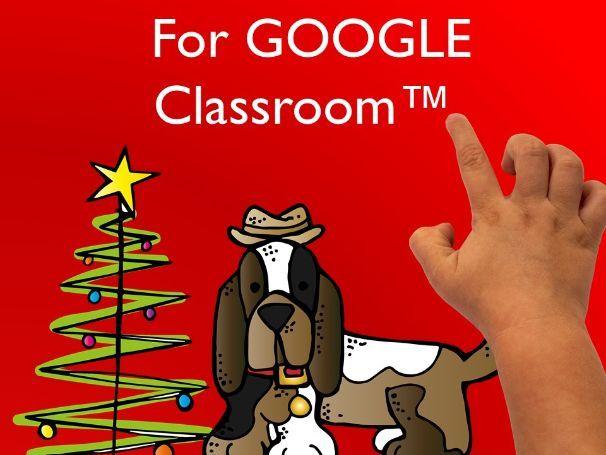GOOGLE Classroom™, Christmas, Animal Wishlist, Pets, Endangered Animals