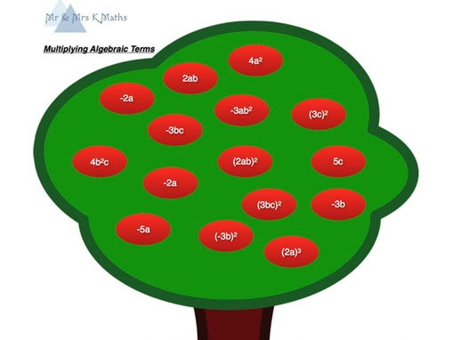 Algebraic Multiplication Tree Activity