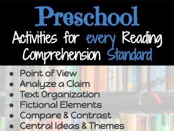 Activities for Every Reading Comprehension Standard: Preschool