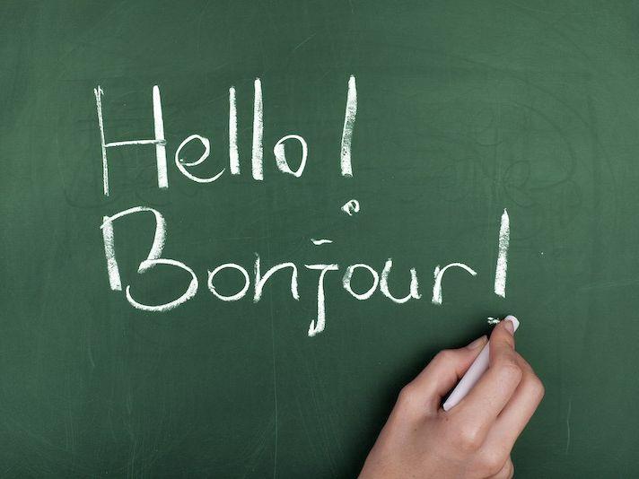 French language basics lesson one