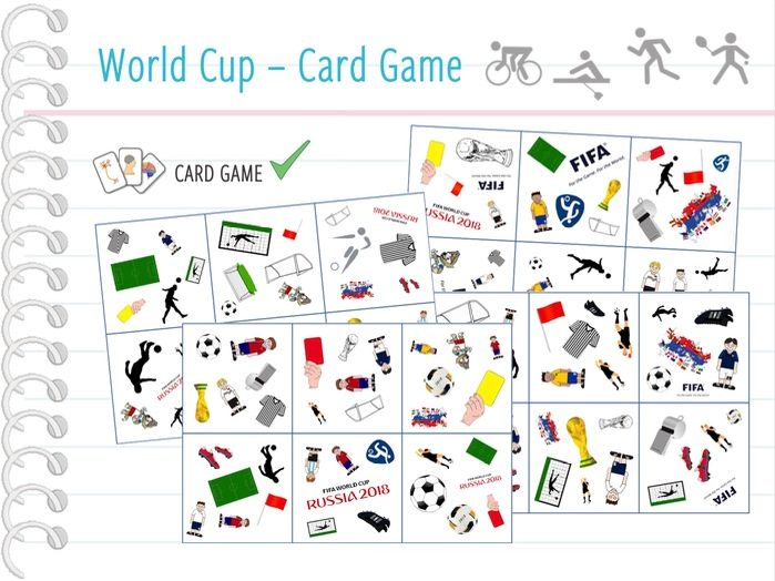 Fifa Football World Cup 2018 - Card Game