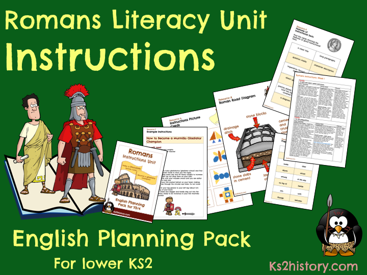 Romans Instructions Planning Pack