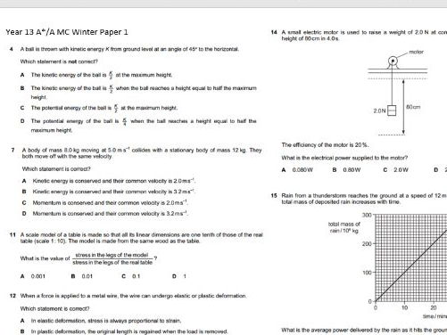 4 1 Charge and current OCR A Physics AS and A level Multiple Choice  Questions