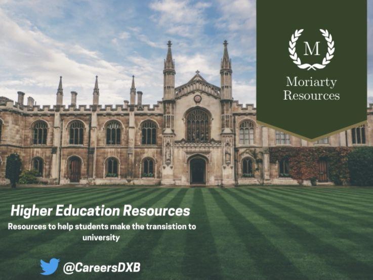Universities Timeline - Year 12 -13 (CIAG)