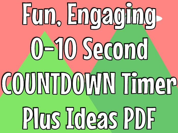 Behaviour Management Tool - Countdown Timer - 10 Seconds