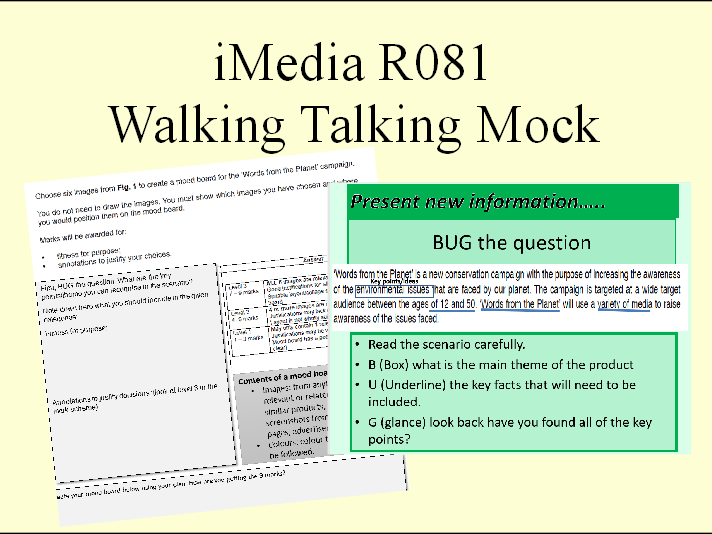 iMedia walking talking mock