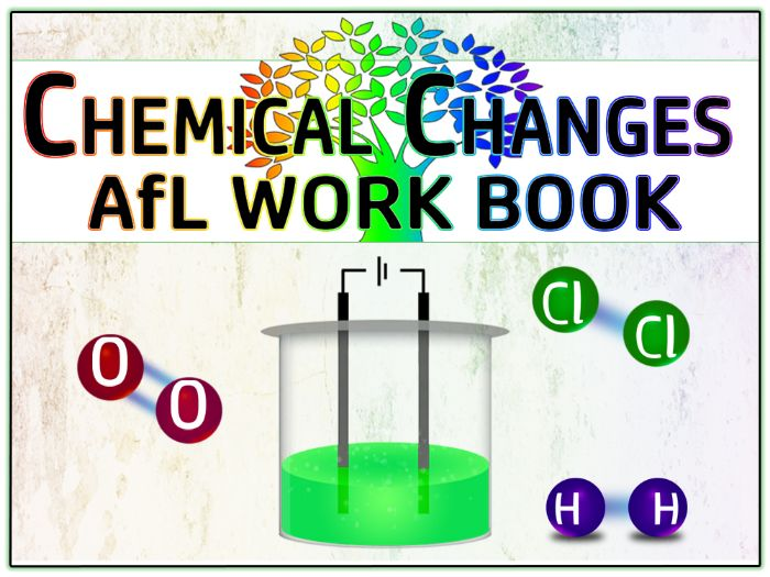 GCSE Chemistry 9-1: Chemical Changes (Acids, Alkalis and Electrolysis) AfL Work Book