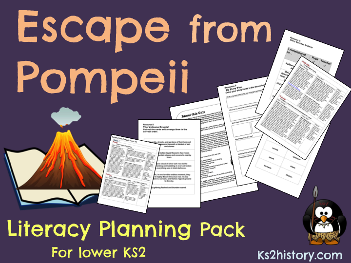 'Escape from Pompeii' Planning Pack