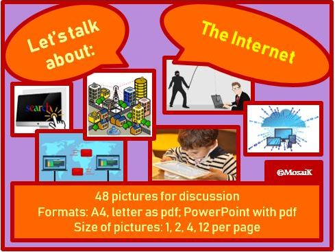 The Internet : picture cards for discussion