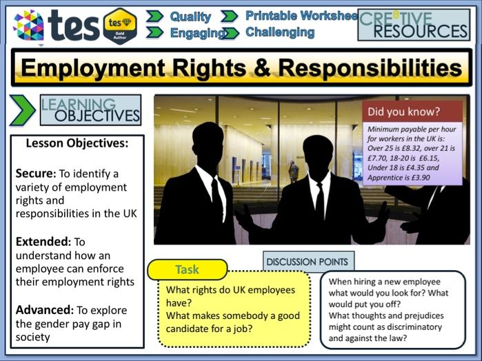 Employment Rights & Responsibilities