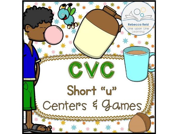 "CVC Short ""u"" Centers and Games"