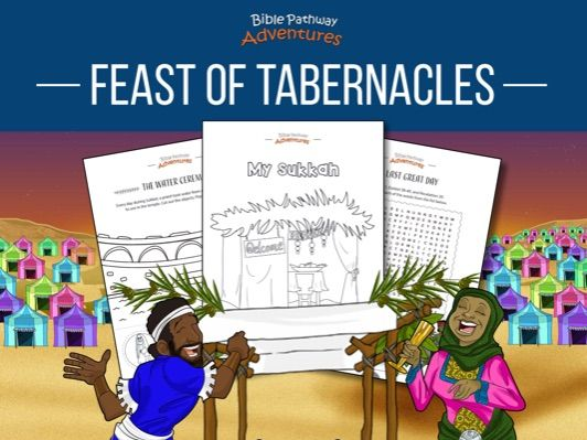 Feast of Tabernacles (Sukkot) Activity Book
