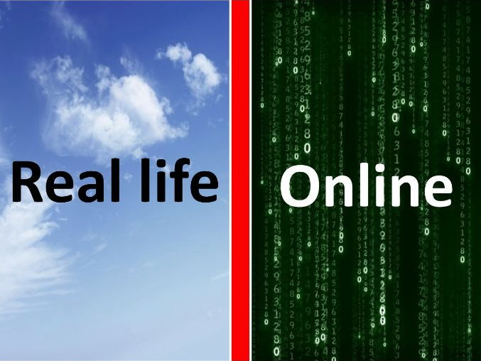 E-Safety Real life vs Online Primary School Assembly