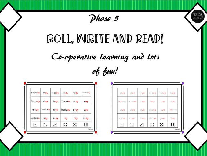 Phase 5 Phonics Roll and Read