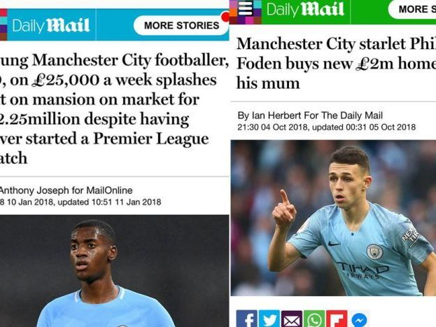 Raheem Sterling media/English racism display football