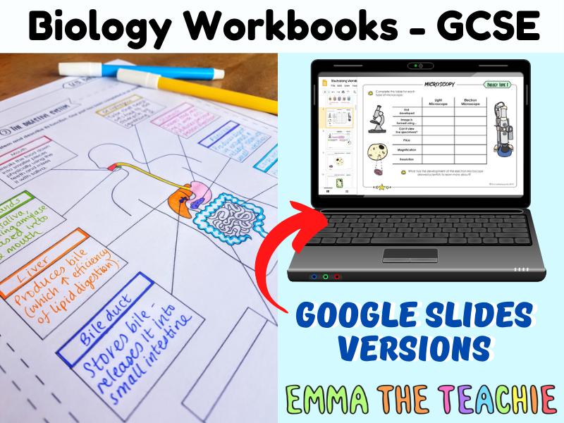 GCSE Biology Workbooks AQA
