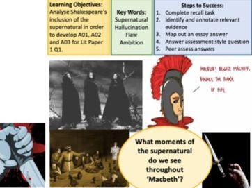 Macbeth GCSE SoW AQA