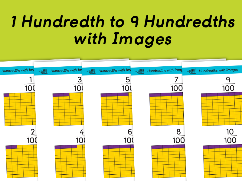 Counting in Hundredths with Images