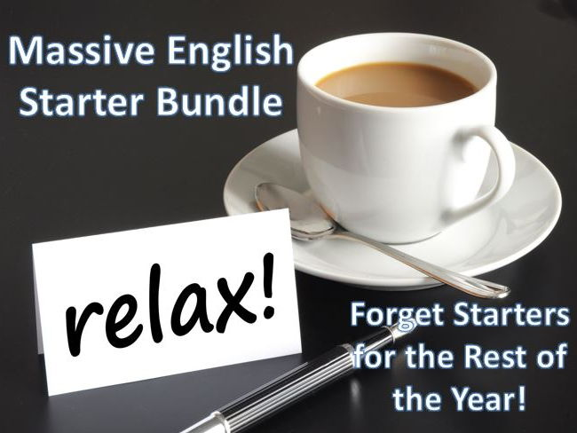 Massive English Starter Bundle